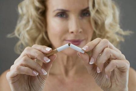 От курения не худеют