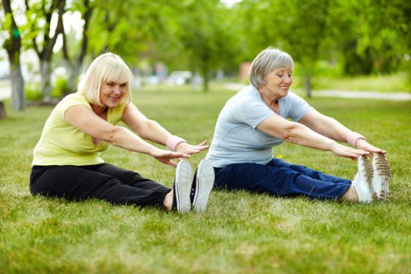 Упражнения совместно с диетой