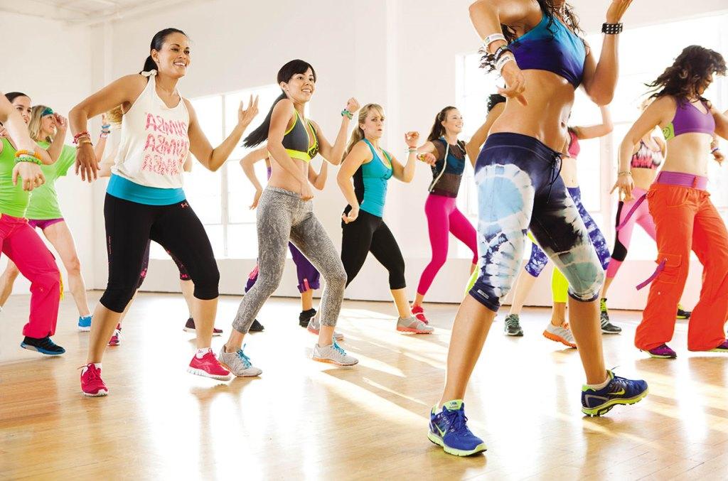 Зумба - танцевальный фитнес