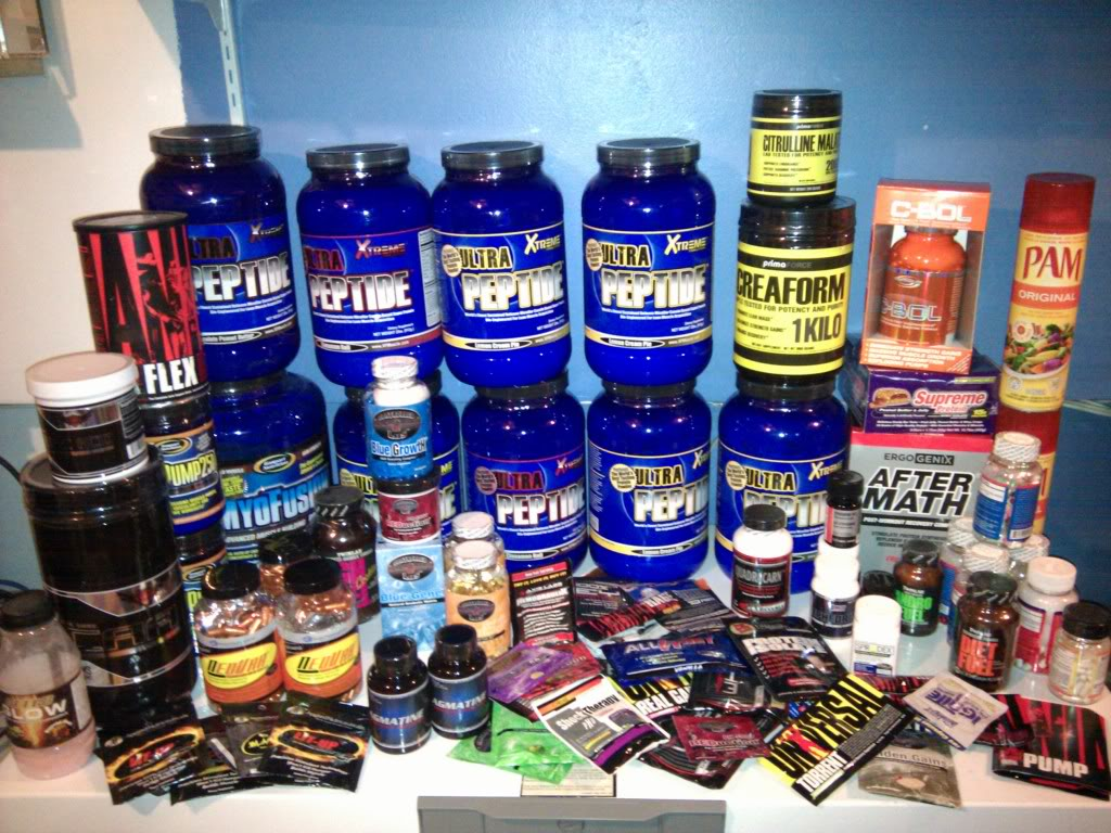 Спортивное питание — залог спортивного успеха!