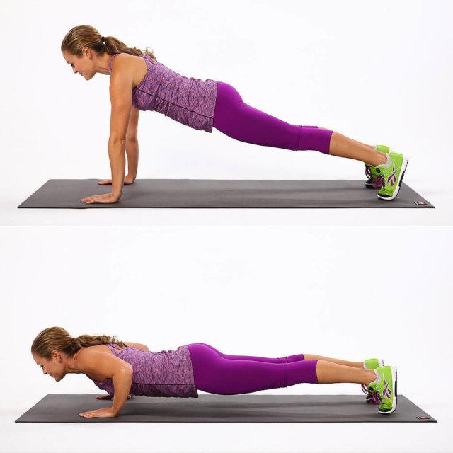 Чем шире поставить руки, тем больше будет нагружаться грудная мышца