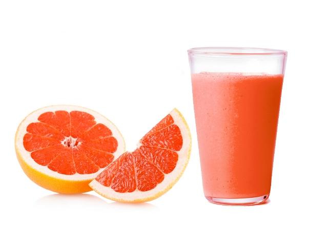 В состав грейпфрута входят органические кислоты, фруктоза, сахароза, витамины групп С, В1, З и D