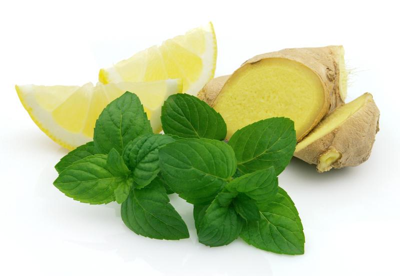 Имбирно-лимонный напиток для снижения веса