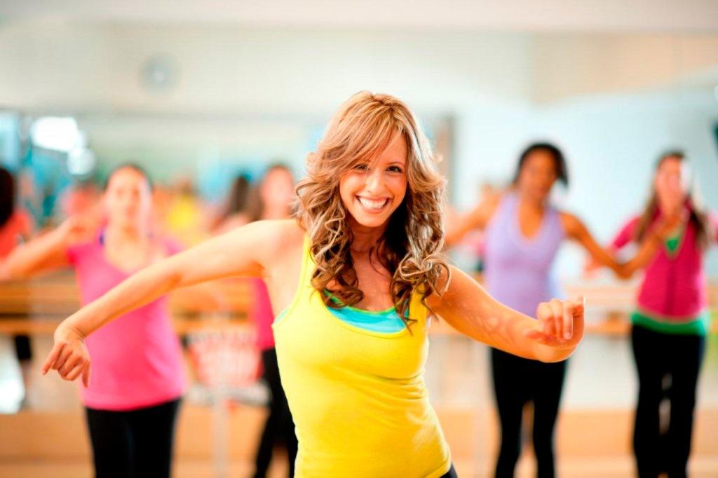 Танцевальный и зажигательный Zumba-фитнес