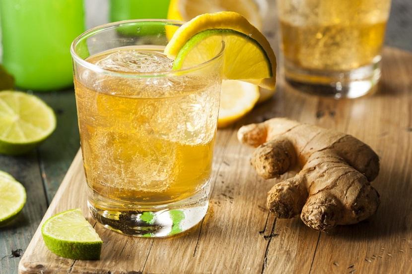 Имбирный коктейль для похудения