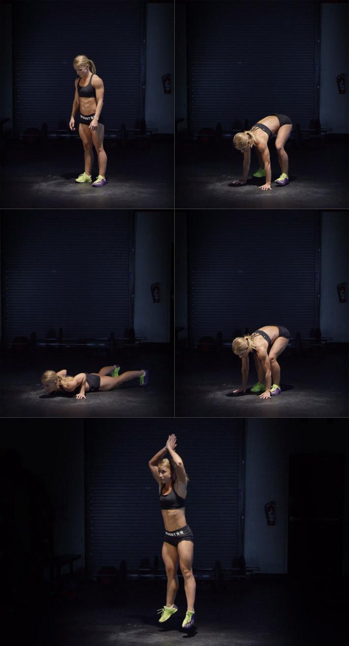 Отличное упражнение кроссфит для сжигания жира, а также увеличения выносливости и взрывной силы всего тела