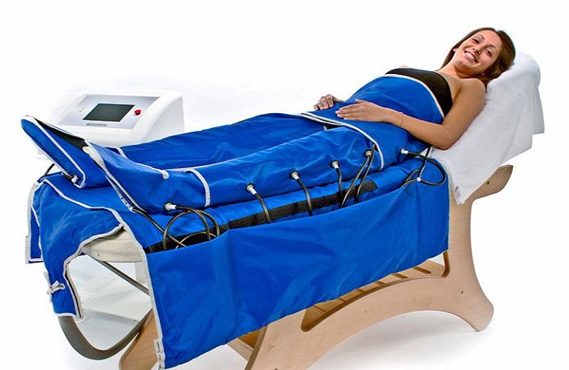Прессотерапия используется для похудения, так как позволяет избавиться от целлюлита в любой стадии его развития