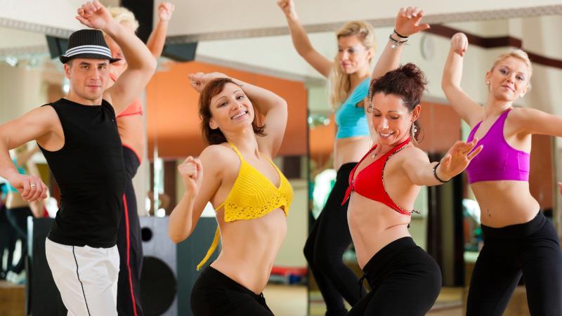 Зажигательные танцы для похудения