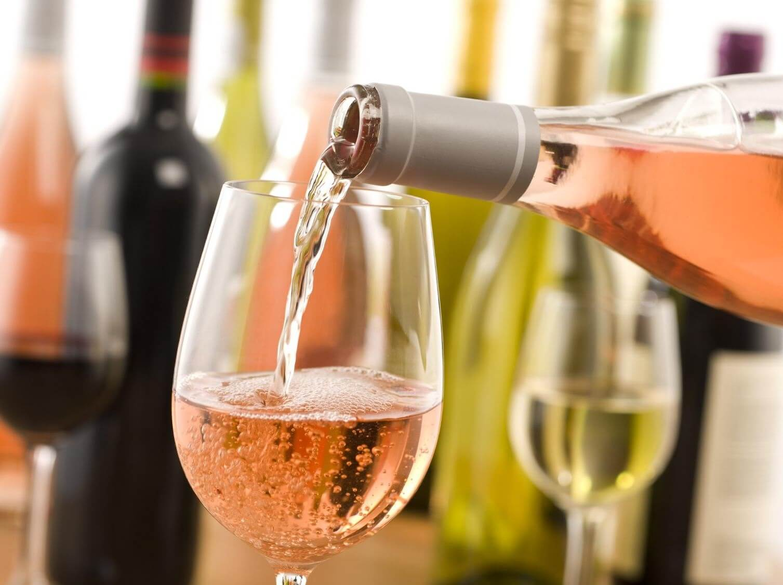 Розовое вино обладает огромным количеством антиоксидантов