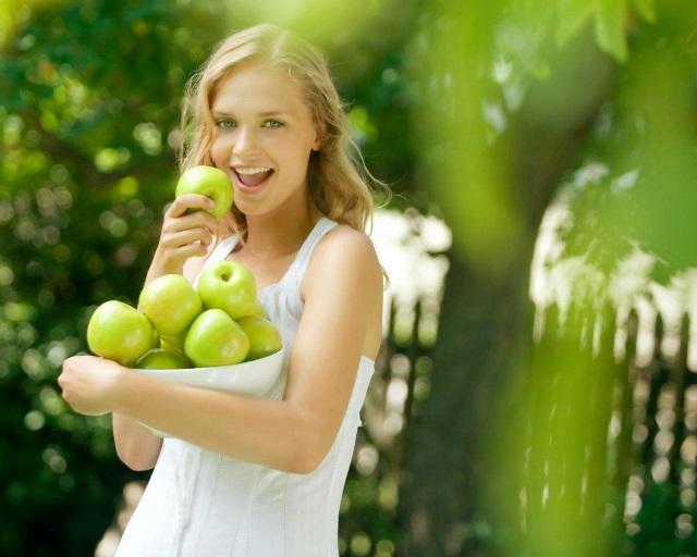 Яблоки — это самый популярный продукт для разгрузочных дней