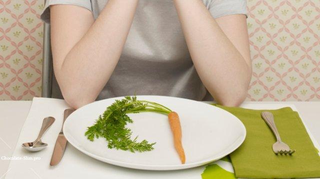 Также небольшим минусом можно считать непривычное ощущение вздутия живота в периоды овощных дней