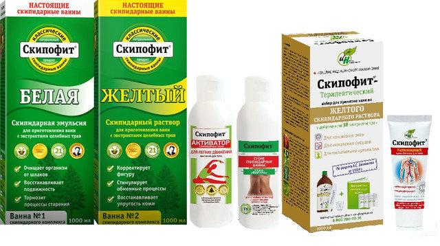 В состав белой эмульсии помимо живичного скипидара входит салициловая кислота, камфорный спирт и детское мыло