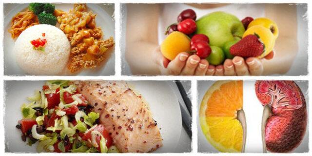 Питание при пиелонефрите направлено на облегчение деятельности почек