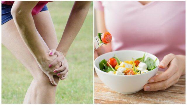 Диета при артрите пальцев ног